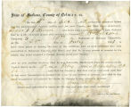 Application for discharged soldiers' county bounty - Affidavits of Isaac W. Witemyre, for Isaac W....
