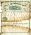 Soldiers' county bounty certificate - George W. Nixon