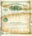 Soldiers' county bounty certificate - Unidentified