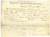 Muster-In-Certificate for Jeremiah Garrard