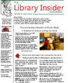Library insider 2009-12, Vol. 07, Iss. 12