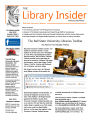 Library insider 2010-05, Vol. 08, Iss. 05