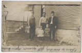 Unidentified family and house