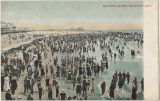 Bathing scene, Atlantic City, New Jersey