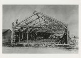 Indiana Bridge Company templet shop frame