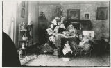 Unidentified home interior, possibly Marsh or Ryan family home