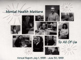 1998-1999 annual report for Comprehensive Mental Health [Meridian] Services