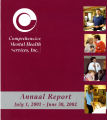 2001-2002 annual report for Comprehensive Mental Health [Meridian] Services