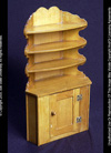 Corner Cupboard, Early American