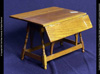 Early American Double Butterfly Wedge Table