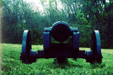 Replica of a Civil War-era cannon