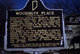 Woodruff Place historical marker