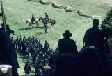 Battle of Perryville reenactment, Union soldiers in formation