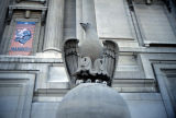 Old Indianapolis City Hall, Detail of Eagle statue