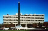 Federal Building and Veteran's Memorial Plaza Obelisk