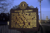 Shaker Colony historical marker