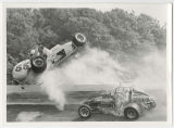 George Snider and Darl Harrison race crash at Winchester Speedway, Winchester, Indiana (05 of 09)