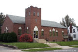 Trinity United Methodist Church, Exterior 3/4 view