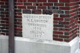 Madison Street United Methodist Church, Cornerstone
