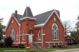 Gaston United Methodist Church, Exterior 3/4 view