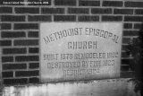 Eaton United Methodist Church, Cornerstone