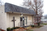 Covenant Partners Ministries United Methodist Church, Exterior 3/4 view with sign