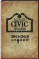Muncie Civic Theatre program : Once Upon a Mattress