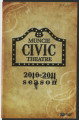 Muncie Civic Theatre program : Oliver!