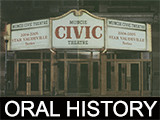 Birt, Howard and Rice, Clara Community Theatre & Middletown oral history