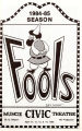 Program from production of Fools