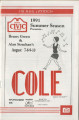 Muncie Civic Theatre program : Cole
