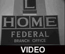 Mutual Home Federal Savings and Loan Association branch office grand opening