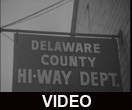 Delaware County Highway Department equipment and employees
