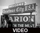 Marion, Indiana Christmas decoration