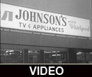 Johnson's TV and Appliance grand opening