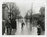 1913 Muncie, Indiana flood, Jefferson Street