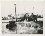 1913 Muncie, Indiana flood, unidentified bridge
