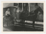 Horse-drawn carriage, Muncie, Indiana