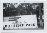 McCulloch Park sign