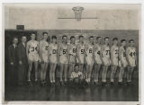 Wilson Jr. High School basketball team members