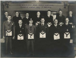 Free and Accepted Masons Muncie Lodge 433 officers and past masters