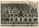 Muncie Central High School 1957 track team