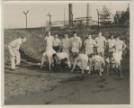 Muncie Central High School track team practice