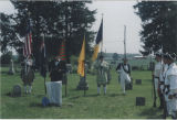 Chaplain John K. Carmichael, Jr.  at cemetery ceremony