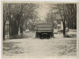1964 Muncie, Indiana flood, East Second Street