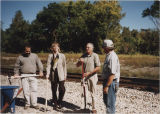 Wysor Train Depot dedication and Cardinal Greenway ceremony