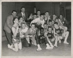 Muncie Central High School Bearcats championship boys basketball team, 1951-9152