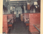 Railroad car interior
