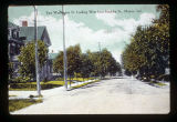 Muncie, Indiana East Washington Street looking west from Hackley Street
