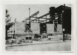 Muncie Post Office extension construction